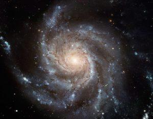Так выглядит галактика.