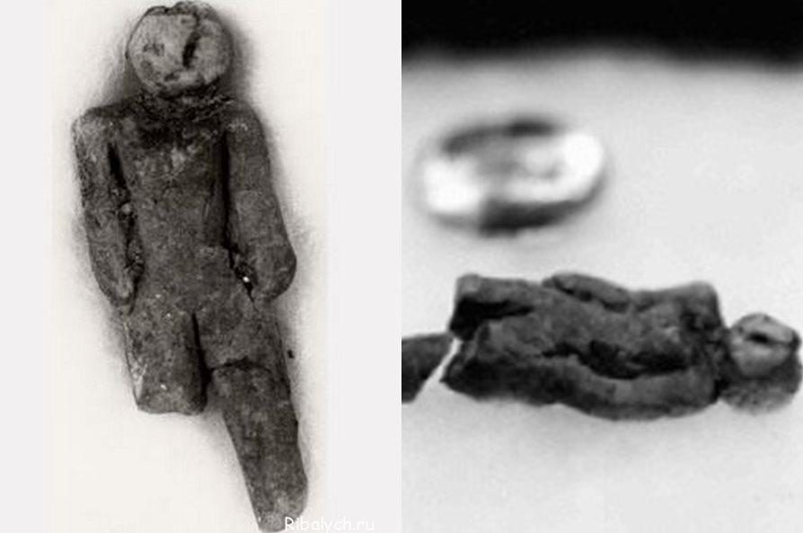 Фигурка женщины, найденная в 1889 году в штате Айдахо.