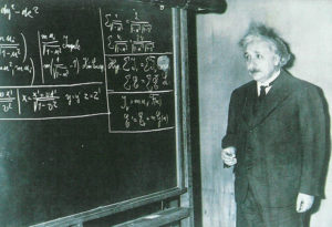 Теория Эйнштейна приснилась ему еще в юности.