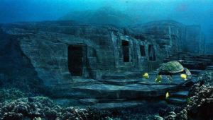 Массивное подводное сооружение у берегов японского острова Йонагуни.