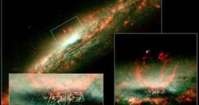 НАСА 23 года скрывает фотографии гигантского города, плывущего в космосе