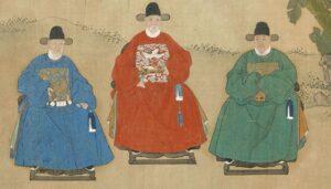 Чиновники древнего Китая
