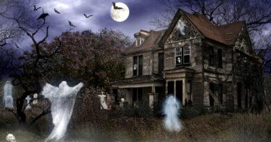 Мудрая легенда о доме с привидениями