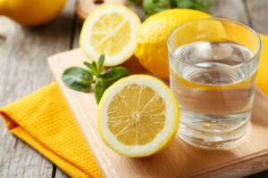 Хотите похудеть — пейте воду с лимоном