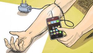 зависимость человека от современных устройств и технологий
