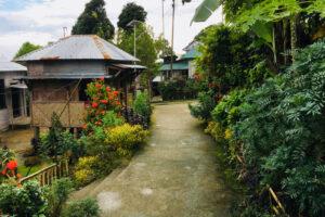деревня Мавлиннонг в Индии