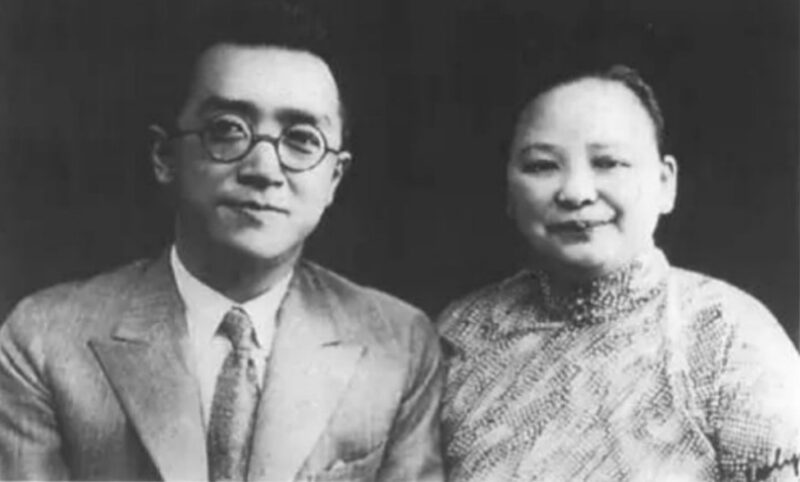 Ху Ши и его жена